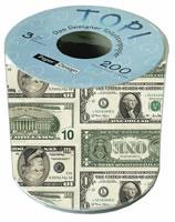 Papier hygiénique Topi Dollar
