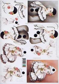 3D Bogen Pirrot - Format A4