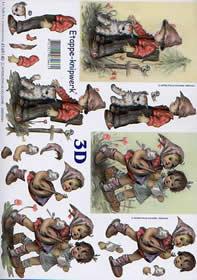 3D sheet Kinder - Format A4