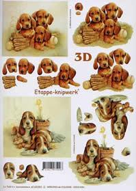 3D sheet H?ndchen - Format A4