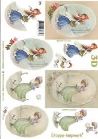 3D sheet Weihnachtsnostalgie - Format A4