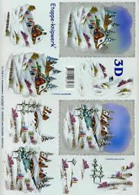 Carta per 3D Winterlandschaft - Formato A4
