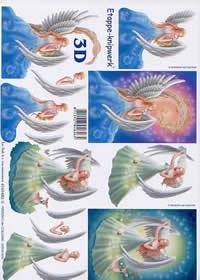 3D Bogen Fee - Format A4