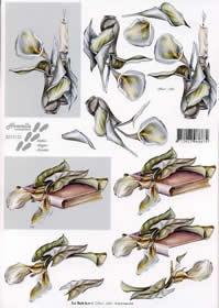 3D sheet Kondolenz - Format A4