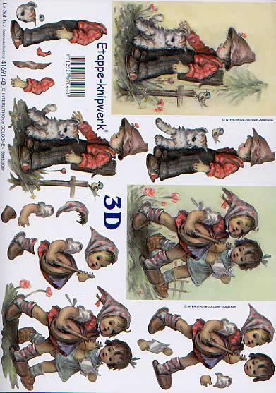 3D Bogen Kinder - Format A4,  Sonstiges - Musik,  Le Suh,  3D Bogen,  Kinder,  Gitarre
