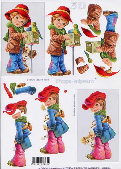 3D Bogen Strassenkind (1) - Format A4,  Sonstiges - Musik,  Le Suh,  3D Bogen,  Strassenkind (1)