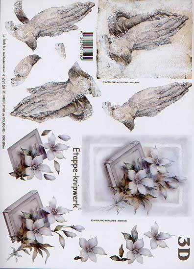 3D Bogen Kondolenz - Format A4,  Le Suh,  3D Bogen,  Kondolenz