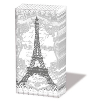 pañuelos de papel Eiffel Tower