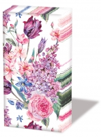 handkerchiefs Flower Composition White