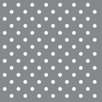 Serviettes cocktail  DOTS SILVER