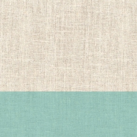Cocktail napkins Linen Aqua