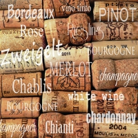 Cocktail Servietten Wine Corks