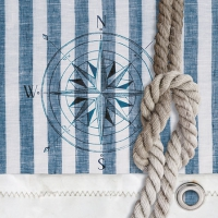 Cocktail napkins Compass And Rope