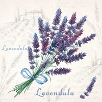 Cocktail napkins Lavendula