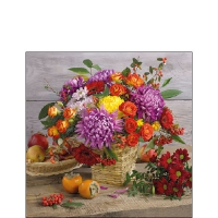 Cocktail napkins Autumn Bouquet