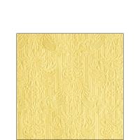 Servietten 25x25 cm - Eleganz Vanille