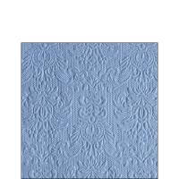 Servietten 25x25 cm - Eleganz Jeans Blau