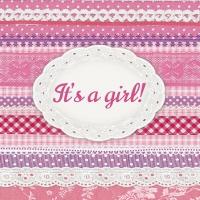 Cocktail Servietten It´s A Girl