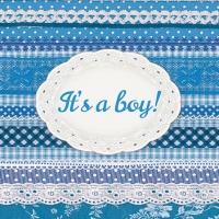 Cocktail Servietten It´s A Boy