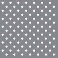 Lunch Servietten DOTS SILVER