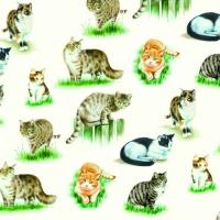 Lunch Servietten LOVELY CATS