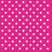 Lunch Servietten DOTS MAGENTA