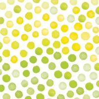 Lunch Servietten FANTASY GREEN/YELLOW