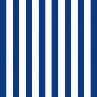 Lunch Servietten STRIPES NAVY BLUE
