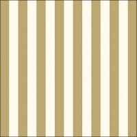 Lunch napkins Stripes Gold