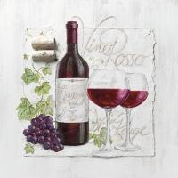 Lunch napkins Vino Rosso