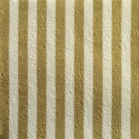 Napkins 33x33 cm - Elegance Stripes Gold