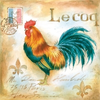 Lunch Servietten Le COQ