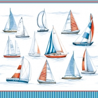 Lunch napkins SAILING