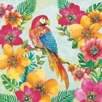 Lunch napkins TROPICAL PARROT