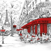 Lunch napkins JOLI PARIS