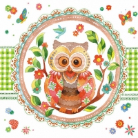 Lunch Servietten SIGNED OWL