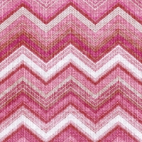Lunch Servietten Textured Chevron Red