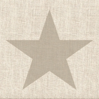 Lunch Servietten Star Linen Sand