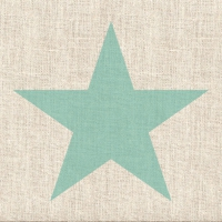 Lunch napkins Star Linen Aqua