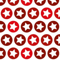 Lunch Servietten Shining Stars Red