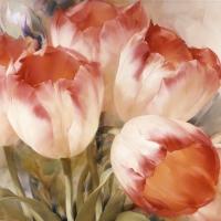 Lunch Servietten Tulips Dream