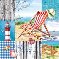 Lunch napkins Beach Chair