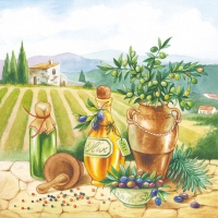 Lunch napkins Toscana
