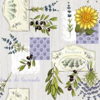 Lunch napkins Provence
