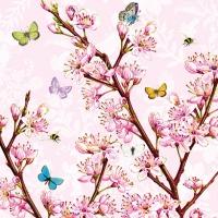 Servilletas Lunch Blossom Rose