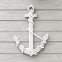Lunch napkins Wooden Anchor White