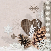 Lunch napkins Winter Nature