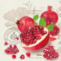 Lunch Servietten Pomegranate