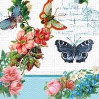 Lunch napkins Flowers And Butterflies