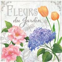 Lunch Servietten Fleurs De Jardin